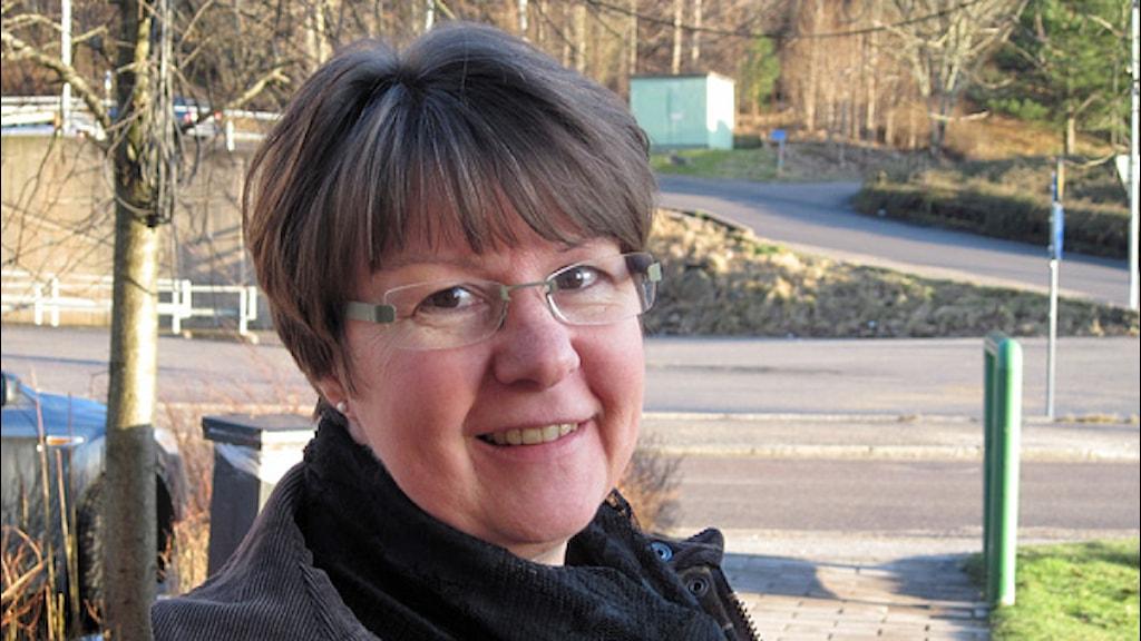 Kerstin Hermansson (C), vice ordförande i stadsdel Väster . Foto: Bo Thorin