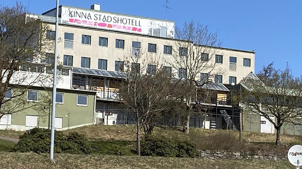 Kinna stadshotell exteriört