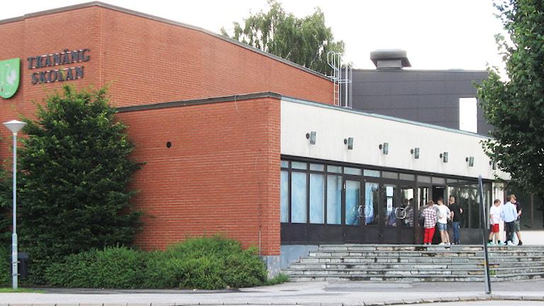 Tranängskolan i Tranemo. Foto: Jan-Åke Thorell.