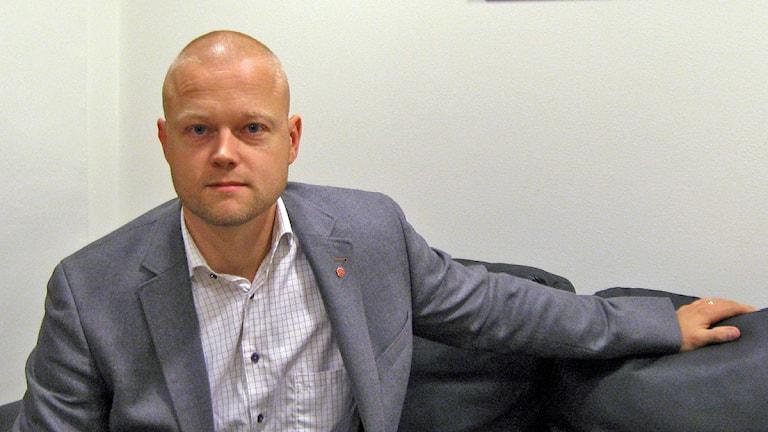 Mattias Josefsson, Socialdemokraterna i Ulricehamn. Foto: Jan-Åke Thorell P4 Sjuhärad