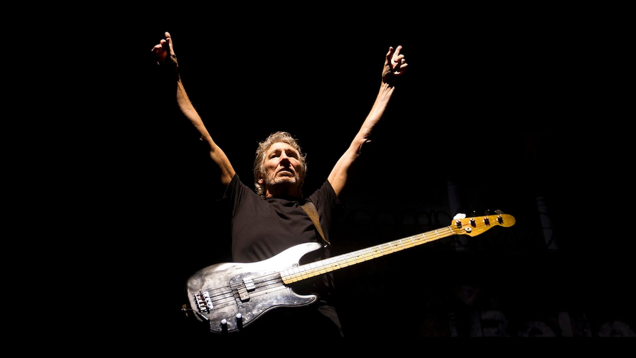Roger Waters. Foto: AP /Victor R. Caivano.