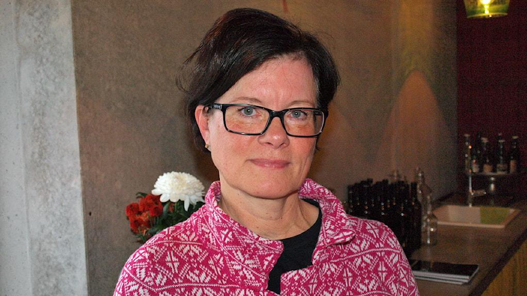 Borås stads kulturchef Eva-Lotta Franzén. Foto Joel Wendle