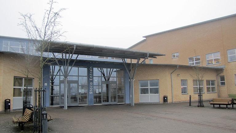 Marks gymnasium. Foto: Maria Hansson P4 Sjuhärad