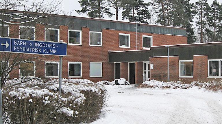 BUP i Borås. Foto: Jan-Åke Thorell P4 Sjuhärad