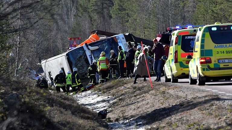 Olycksbussen.