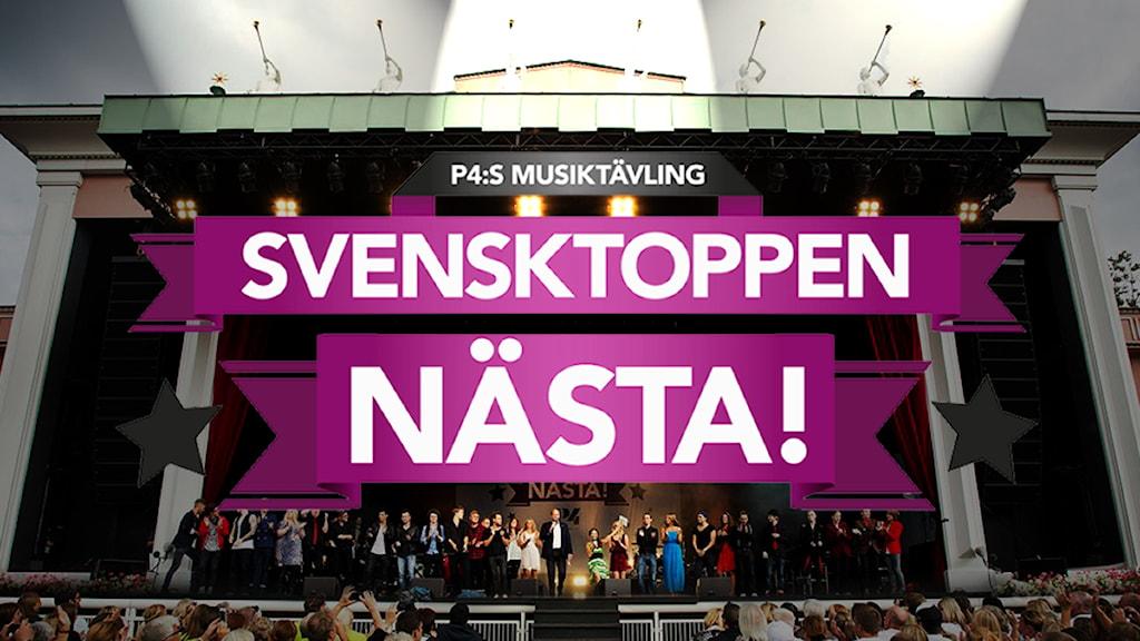 Svensktoppen nästa fotomontage Foto: Sveriges radio