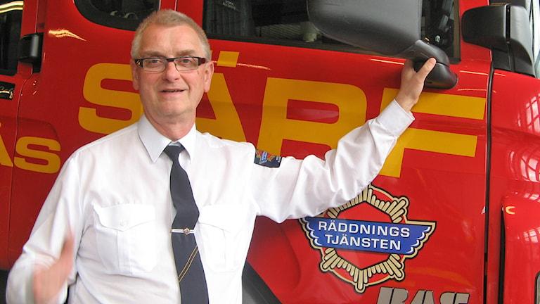 Sven-Åke Josefsson, räddningschef i Södra Älvsborg.