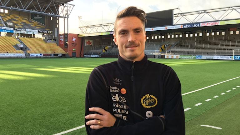 Lasse Nilsson på Borås Arena.