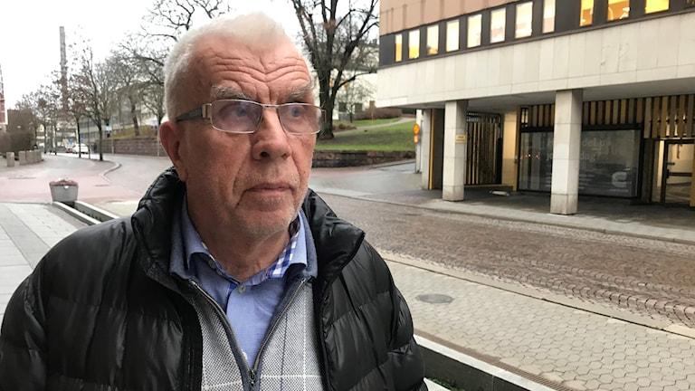Roland Andersson, tidigare kommunalråd i Borås och regionstyrelsens ordförande för Socialdemokraterna.