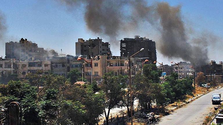 Homs Syrien. Foto: Scanpix