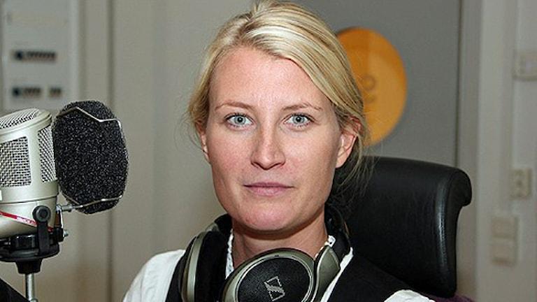 Monica Wilderoth, avgående chef på Borås stadsteater. Foto: P4 Sjuhärad.