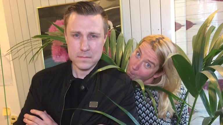 Andreas Rosenqvist och Kristin Holmberg