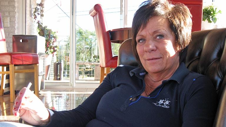 Christina Abrahamsson brinner fortfarande för att påverka. Foto: Jan-Åke Thorell