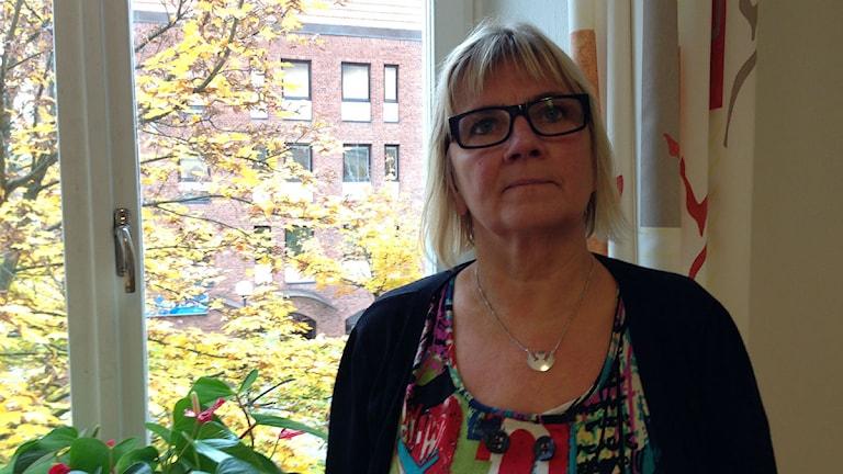 Vanja Myrén, enhetschef för IFO Vuxen i Borås. Foto: Maria Hansson