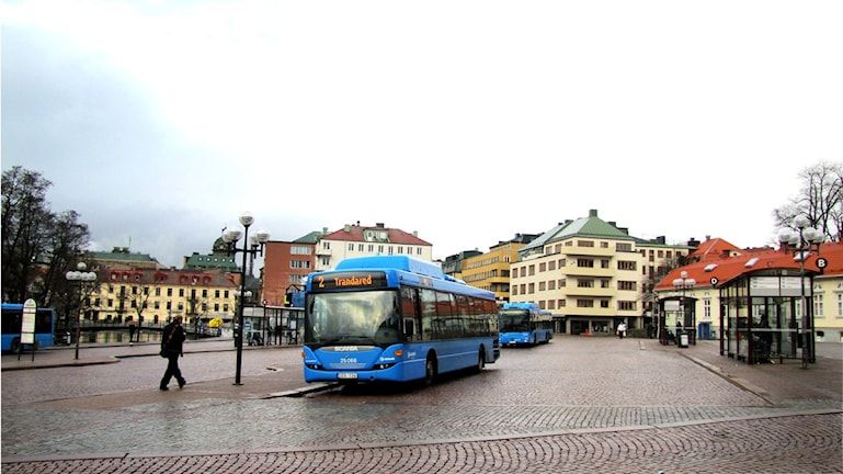 Södra torget i Borås.