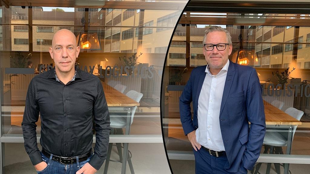 Niklas Ivarsson och Stefan Dinér
