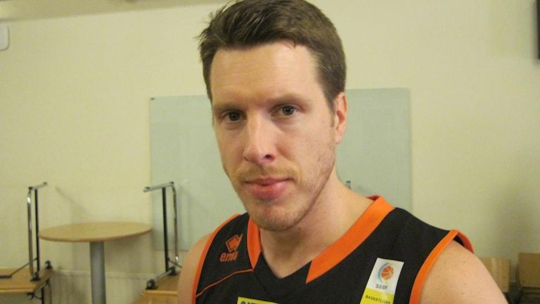 Henrik Carlsson i Borås Basket. Foto: Staffan Kulneff