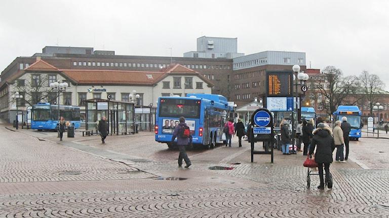 Södra torget i Borås Foto: Ann-Christin Lundberg