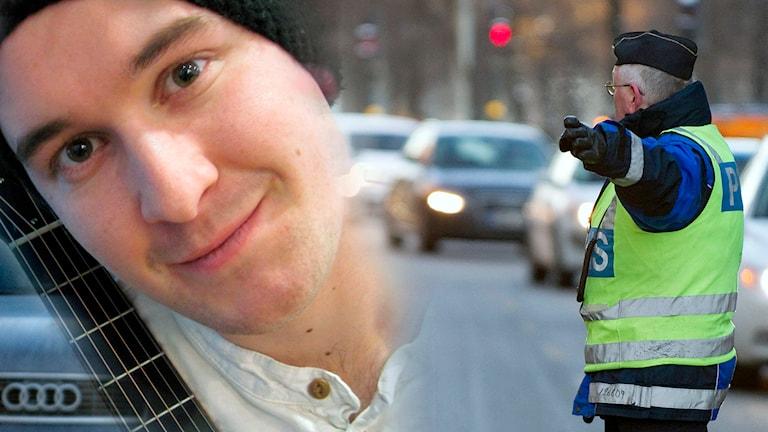 45 000 fler bilförare borde bli av med sitt körkort varje år - nyheten i veckan väckte uppståndelse. Skalden Mathias Melo fantiserar i ämnet i Nyhetslåten.