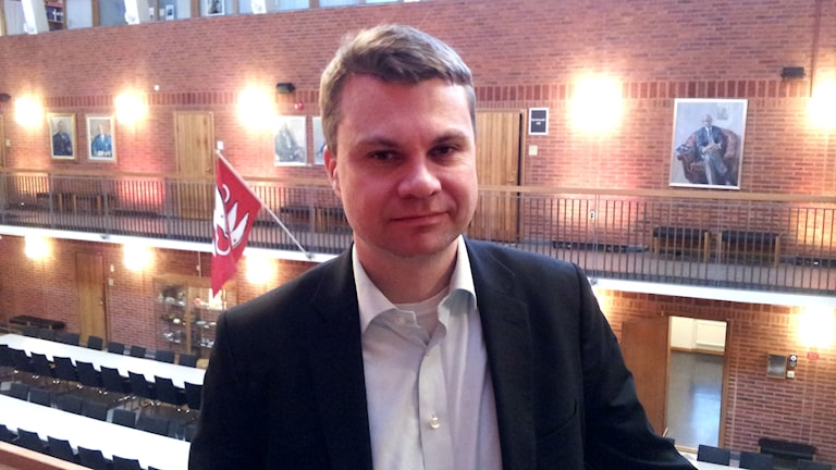 Ulf Olsson, kommunstyrelsens ordförande, socialdemokrat