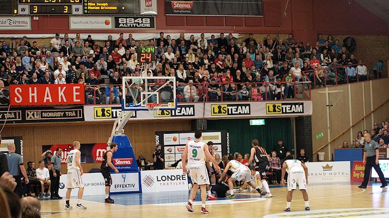 Borås Basket. Foto: Kristoffer Lidén