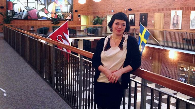Ida Legnemark valdes i helgen in i Vänsterpartiets verkställande utskott.