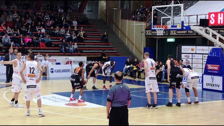 JJ Miller, Borås Basket. Foto Kristoffer Lidén