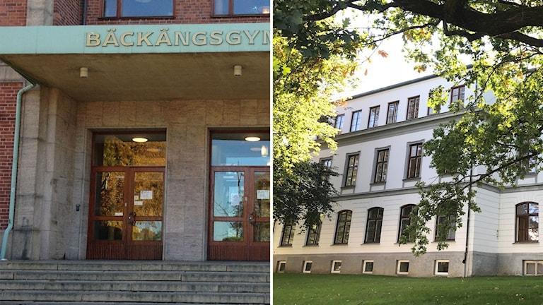 Bäckängsgymnasiet och Sven Erikssongymnasiet