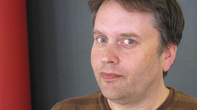 Författaren och journalisten Niclas Sennerteg. Foto: Niclas Odengård.