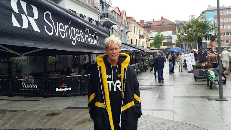 Adam Paulsson. Foto: Sveriges radio