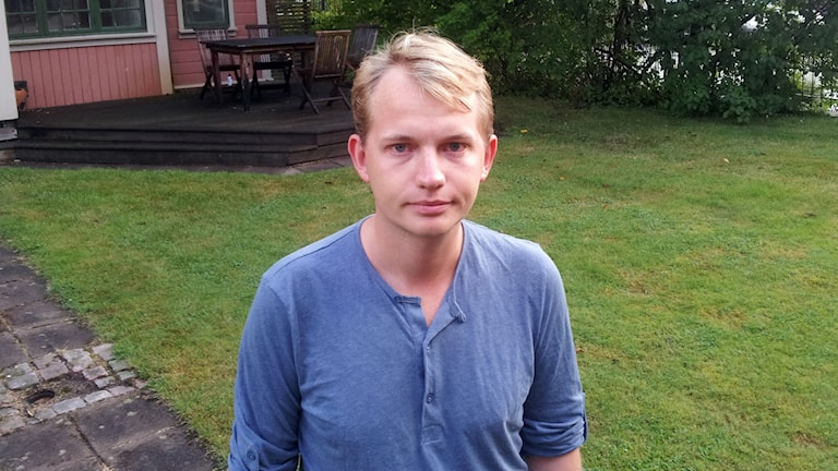 Liberala ungdomsförbundets ordförande i Borås, Marcus Nilsen. Foto: Joel Wendle/SR