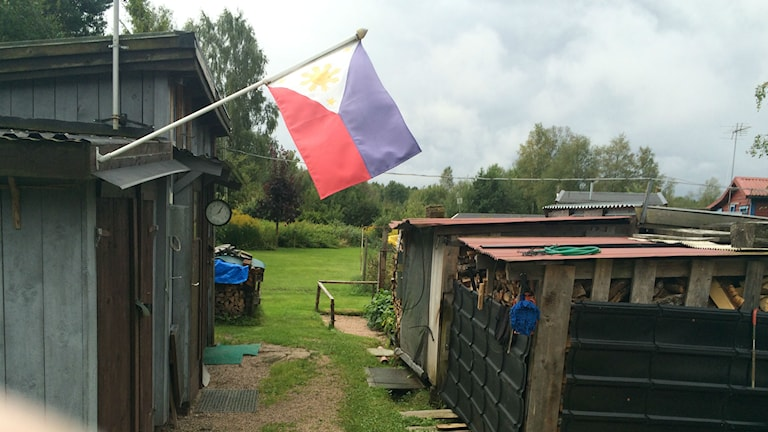 Filippinerna i Enekulla Foto: Mikael Olmås