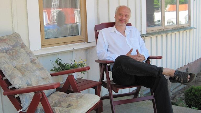 Ronnie Rexwall, ordförande i Kommunens Väl