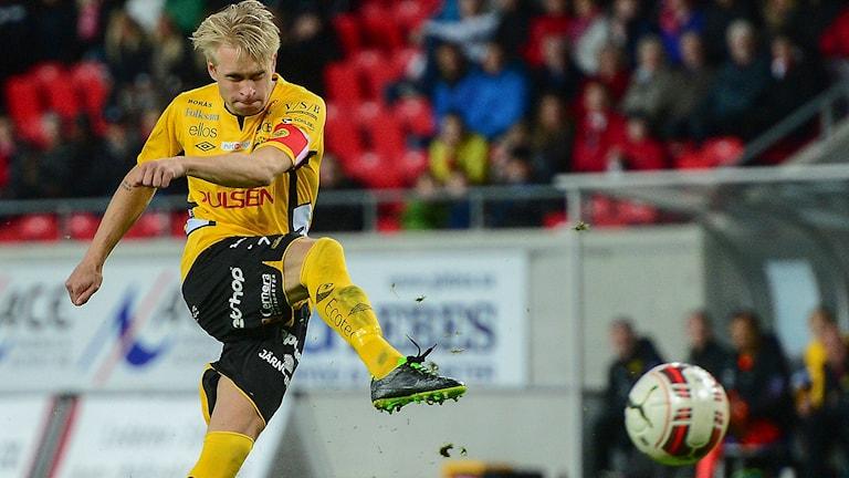 Elfsborgs Johan Larsson. Foto: Patric Söderström / TT.