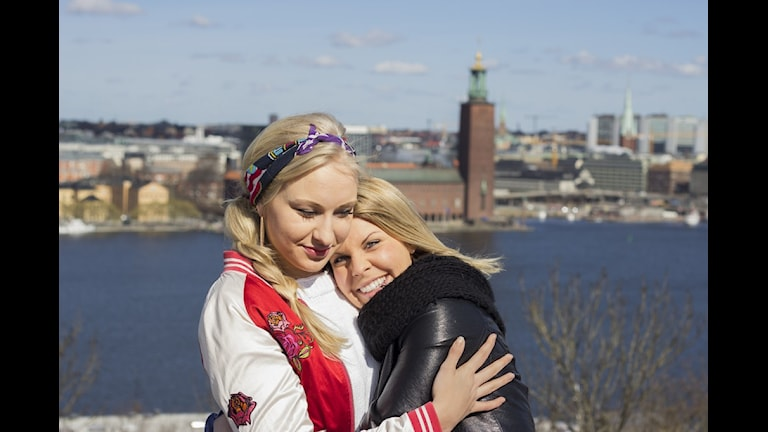 Julia Östfeldt och Emma Blomdahl