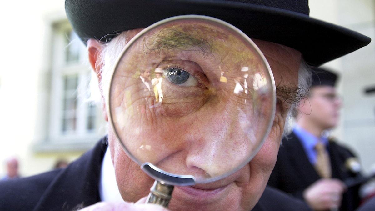 Detektiv. Foto: Björn Larsson Ask/TT.