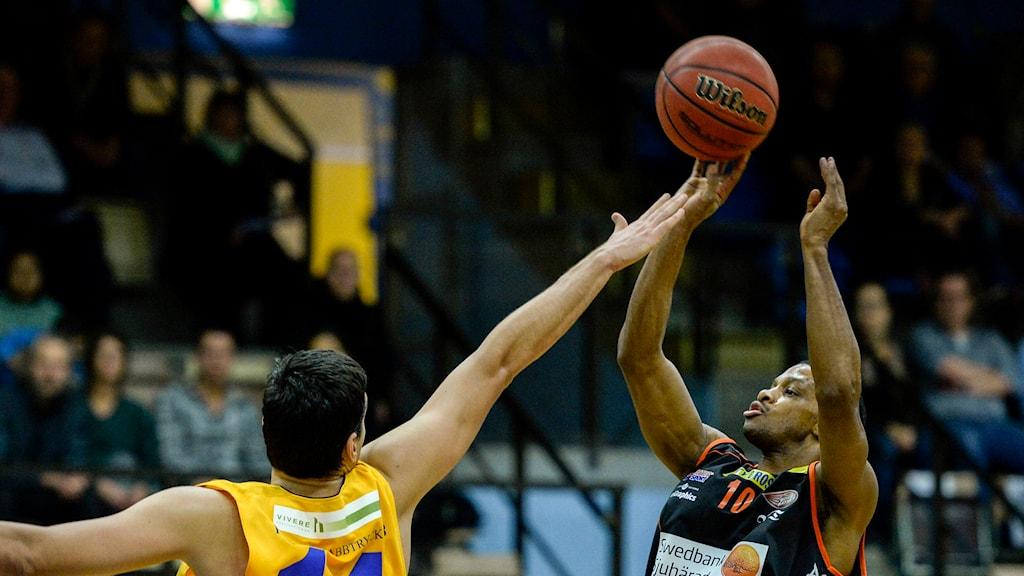 JJ Miller Borås Basket. Foto Janerik Henriksson/TT