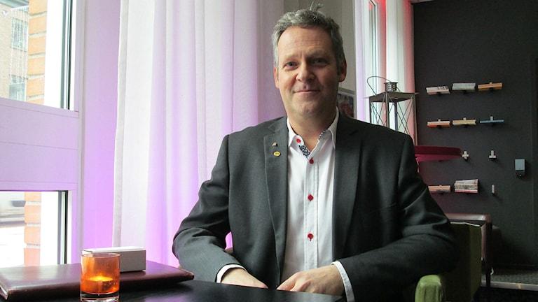 Riksdagsman Jan Ericson (M). Foto: P4 Sjuhärad.