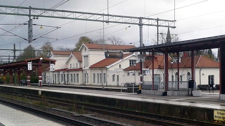 Herrljunga stationshus. Foto: Niclas Odengård.