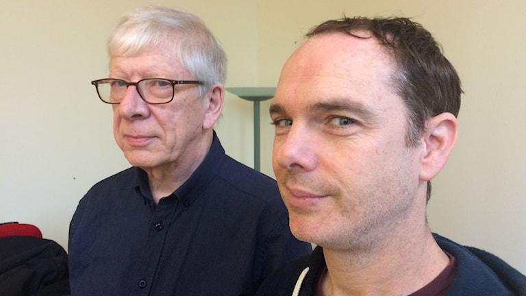 David Withworth och Gary Withaker. Foto: MIkael Olmås