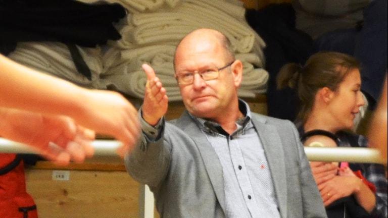 Frank Alm, Mark basket. Foto Kristoffer Lidén.