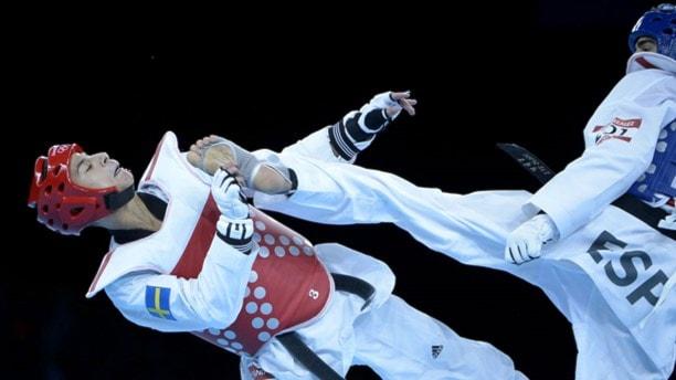 Taekwondo. Foto: Tobias Röstlund /TT.