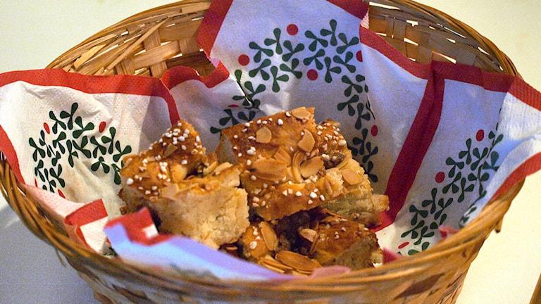 Philadelphiabullar med smak av pepparkaka. Foto: Niclas Odengård.
