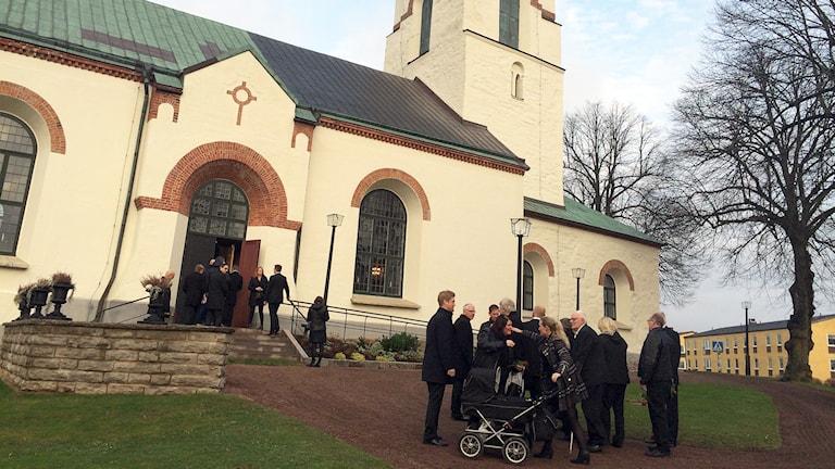 Kyrkan i Ödeshög. Foto: Peter Elvemo.