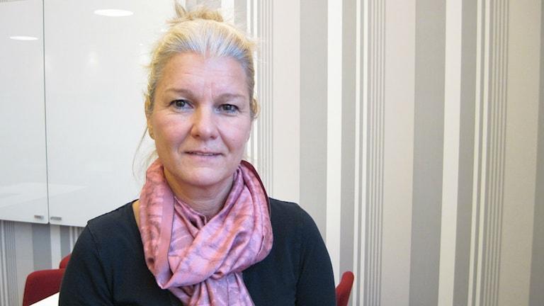 Anna-Karin Schön, projektchef Borås Energi och Miljö. Foto: Pär Sandin