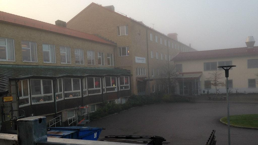 Engelbrektskolan. Foto: Erika Larsson/SR.