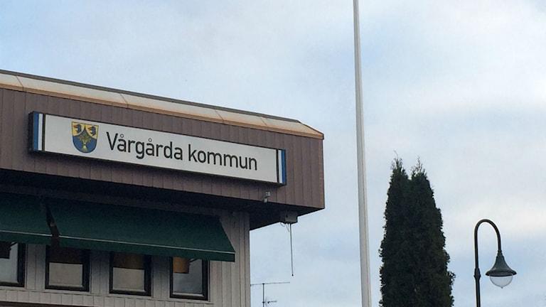 Vårgårda kommunhus. Foto: Maria Hansson/SR