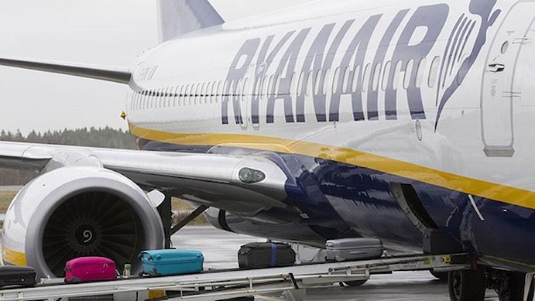 Ryan Air flyger just nu från Landvetter. Arkivfoto: Morten Holm/Scanpix