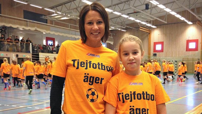 Linda Broman och Emma Magnusson.