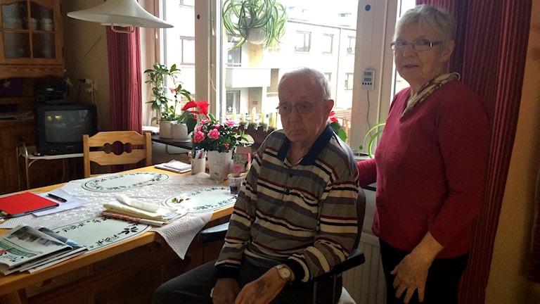 Tommie Skoglund och Elsie Juterot. Foto: Maria Hansson.
